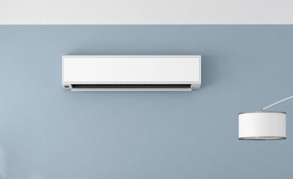 Close up  Airconditioner